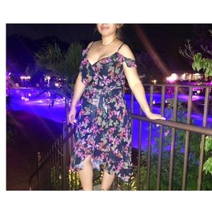 Betsey Johnson butterfly dress, worn 1x Sz 8